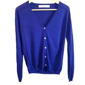 Zara knit button up cardigan